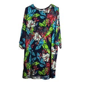 Zara Woman Floral Shift Dress